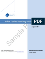 Indian Ladies Handbag Industry Report