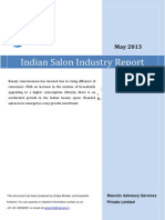 Indian Salon Industry Report