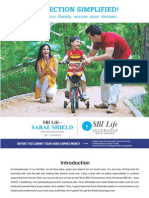 SBI LIFE INSURANCE - Saral Shield Brochure New Version