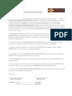 Carta de Fiel Depositário