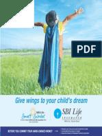 SBI LIFE INSURANCE - Smart Scholar Brochure V1