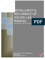 Mos & Metallurgy Lab