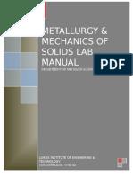 Mos & Metallurgy Lab