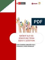 Modulo Proyectos Educativos