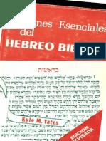 Yates-Nociones Esenciales Del Hebreo Biblico.pdf