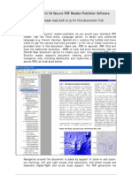Drumlin V4 Secure PDF Reader/Publisher Software Please Read and/or Print