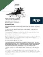 Criminal Negligence by McComas, J. Francis, 1911-1978
