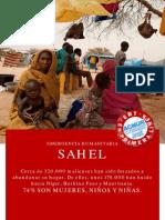 Acnur Emergencia Sahel