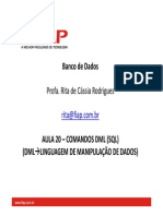 20-1-Aula 20 DML RitaCRodrigues