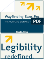 Wayfinding Sans Pro