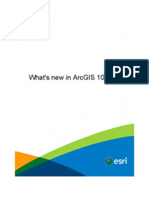 Whats New in Arcgis 10 2 | Arc Gis | Esri