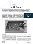 Homebrew RF Transceiver Design