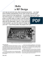 Homebrew RF Transceiver Design
