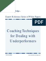 Coaching Underperformers