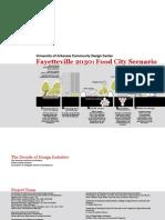 30Fayetteville 2030 Food City Scenario Report
