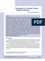 Nutritional Strategies for Treating Chronic Fatigue Syndrome
