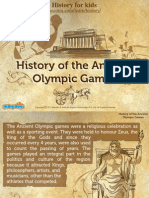 History of the Ancient Olympic Games – Mocomi.com