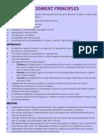 Assessment Principles
