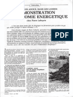 French biogas and biomethane example 1983
