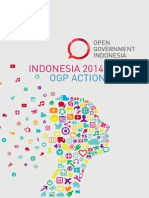 Indonesia Ogp Action Plan 2014-2015