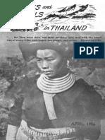 TribesandTrails 1956 Thailand