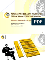 AK2 Pertemuan 14 Perubahan Kebijakan Akuntansi