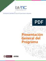 Presentacion General Del Programa