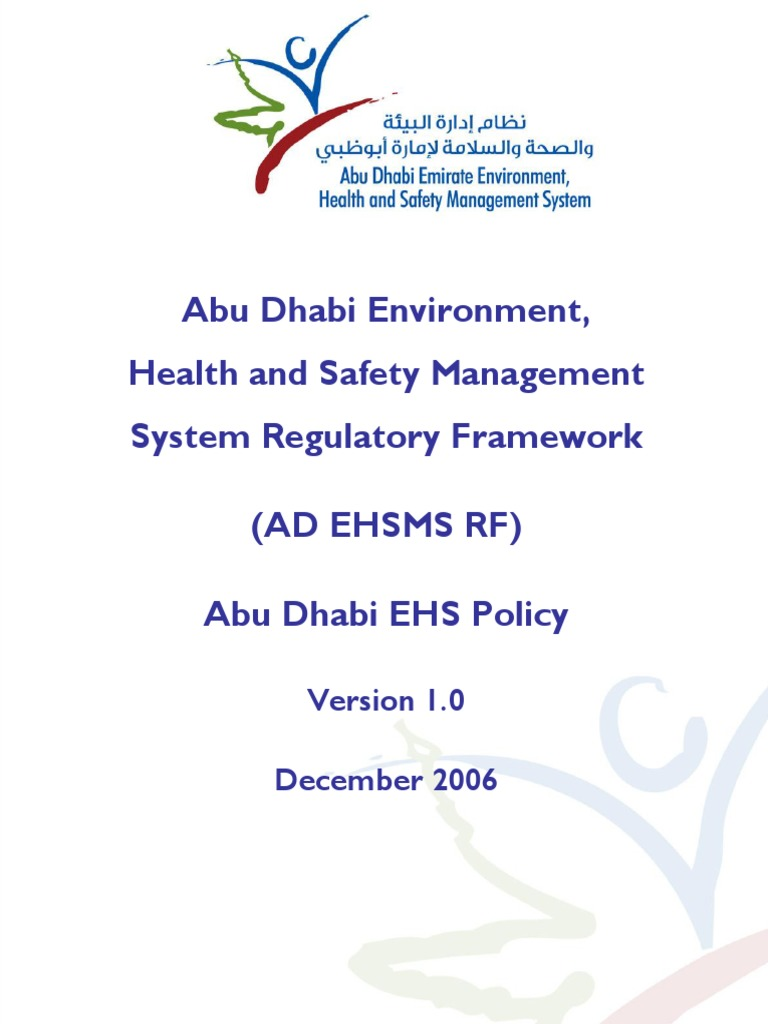 01 ad ehs policy english occupational safety and health sustainability