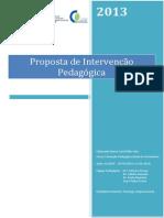 Pip - Proposta de Intervenao Pedagogica - Marco Viais