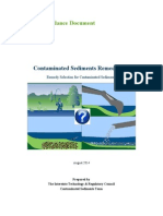 ITRC Contaminated Sediments Remediation Guidance Document AUG 2014