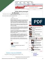 25-08-2014 'Comenzarán a Remodelar Plaza Principal de Reynosa'