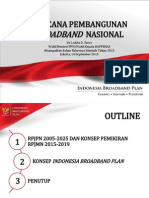 Indonesia Broadband Plan