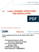 CDMA Channel Structure