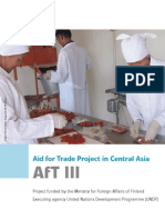Aid for Trade in Central Asia