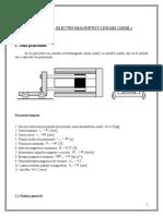 Actuatori Electromagnetici Liniari (AEML)