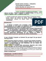 1a Direito Constitucional Sistema de Direito Constituição Classificação