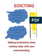 predicting - science