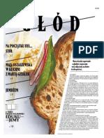 """Gazeta o żywości i kulturze """"Głód"""""""