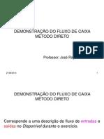 Dfc Metodo Direto e Indireto Power Point Caso Pratico