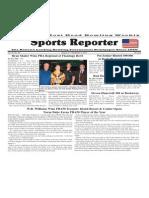 August 27 - September 2, 2014 Sports Reporter