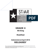 STAARM G4 2014Test Write