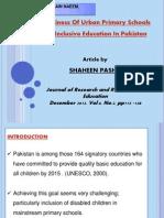 Inclusive Article Presentation