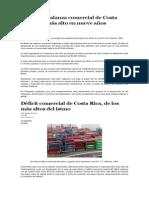 Balanza Comercial Costa Rica (1)
