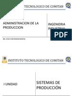 Administracion de La Produccion i Unidad