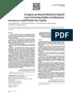 Articulo Para Discusion - Vitamina D Mujeres
