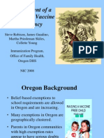 Oregon Vaccine Hesitancy Index PPT