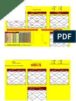 Lalkitab Based varshphal Making Excel Work sheet.