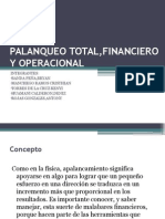 Palanqueo Total,Financiero y Operacional