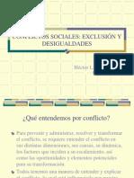 Conflictos Sociales en a.L.