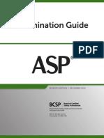 Bcsp ASP Exam Guide